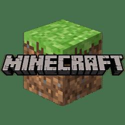 Kafel Minecraft z kwawałkiem ziemi zielonej