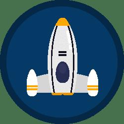 ikona rakieta polkolonie alekosmos