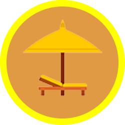 ikona wakacje rajska wyspa